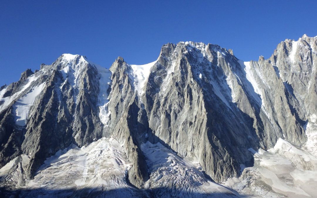 Stage Alpinisme Grandes voies Granite Chamonix