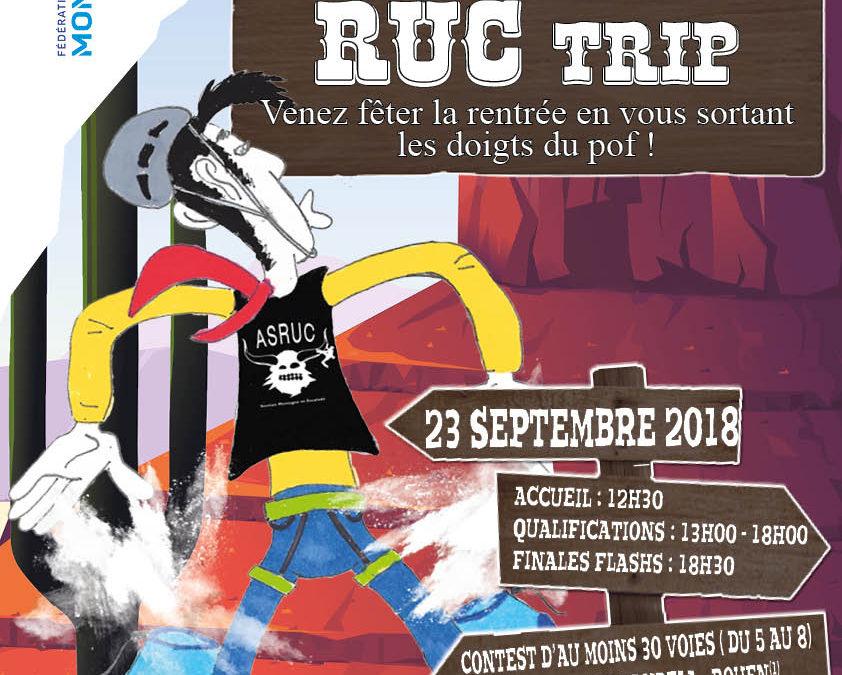 MandelA'S RUC Trip – Open de difficulté – 23 septembre 2018
