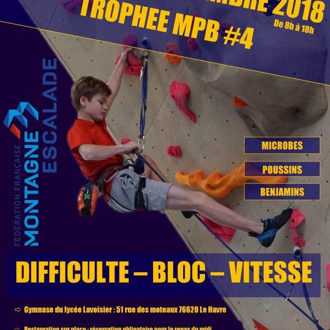 Trophée MPB #4 – 25 Novembre 2018 – Le Havre