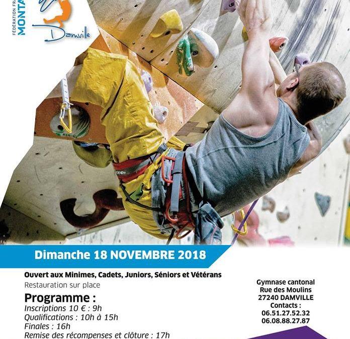 Escadal'en Ville – Open de difficuté – 18 novembre 2018