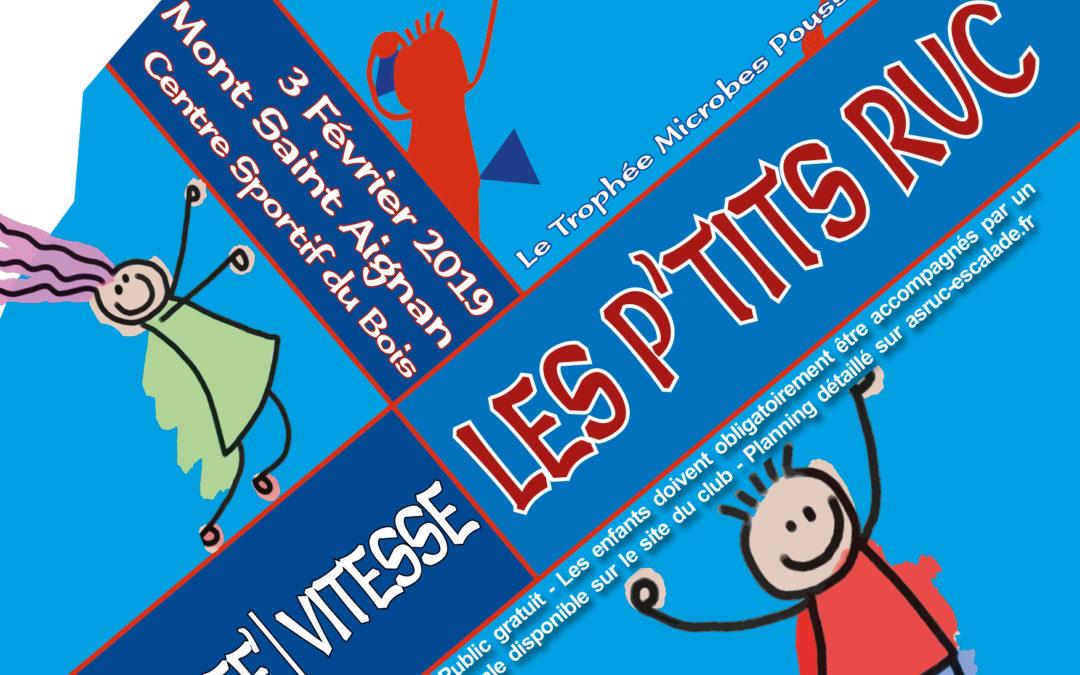 LES P'TITS RUC #2 – Trophée Microbes Poussin(e)s Benjamin(e)s – 3 Février 2019