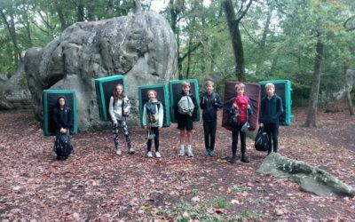 Stage jeunes à Fontainebleau : ça débloc !