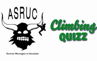 ClimbingQUIZZ #1